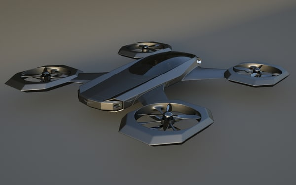 3ds max heli designed
