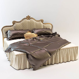 3d model bed angelo