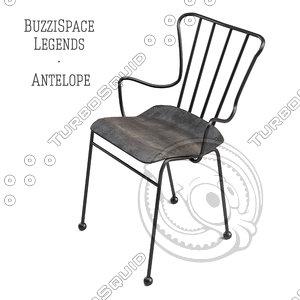 buzzispace legends antelope 3d model