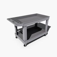push cart 3d model