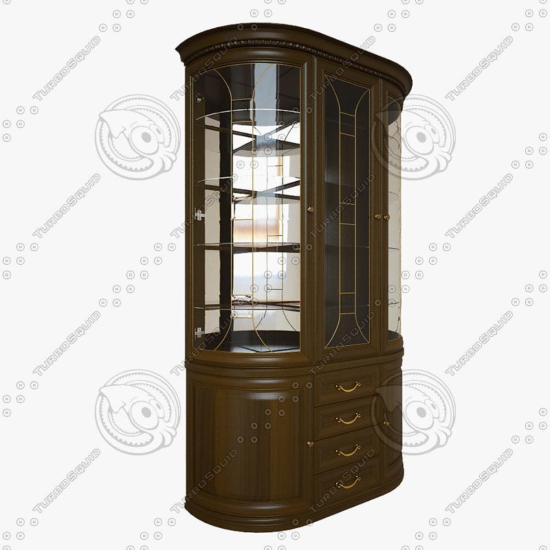 glass cabinet max