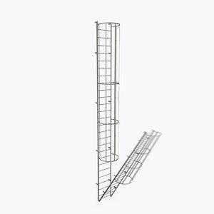 access ladder 3d max