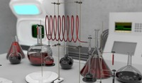 science laboratory c4d