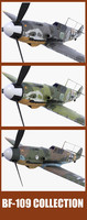 bf-109 fighter 3d model