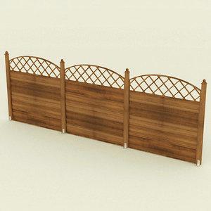 3d fence