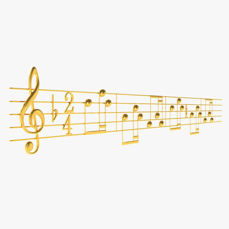 sheet music 3ds