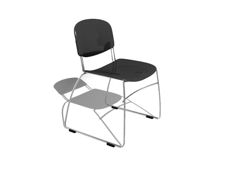 venue chair 3d model