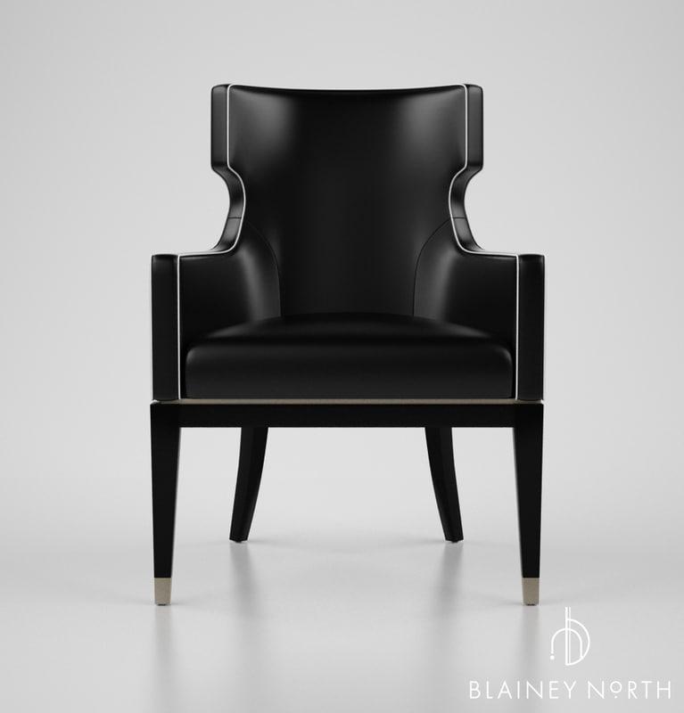 blainey north hercule chair 3d max