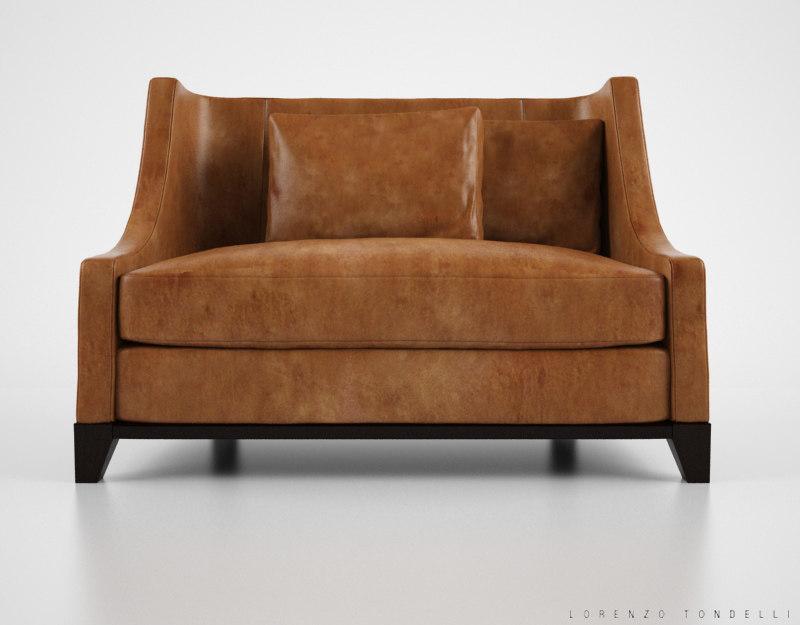 lorenzo tondelli luba sofa 3d max