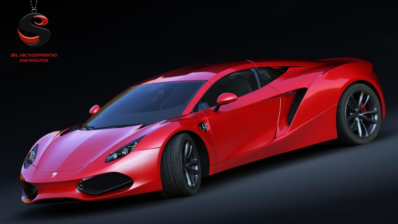 arrinera hussarya 2015 3d model