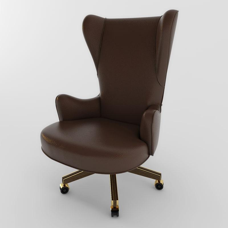 3d chair annibalecolombo 1462