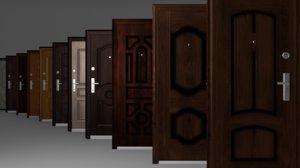 3ds max doors pack 13