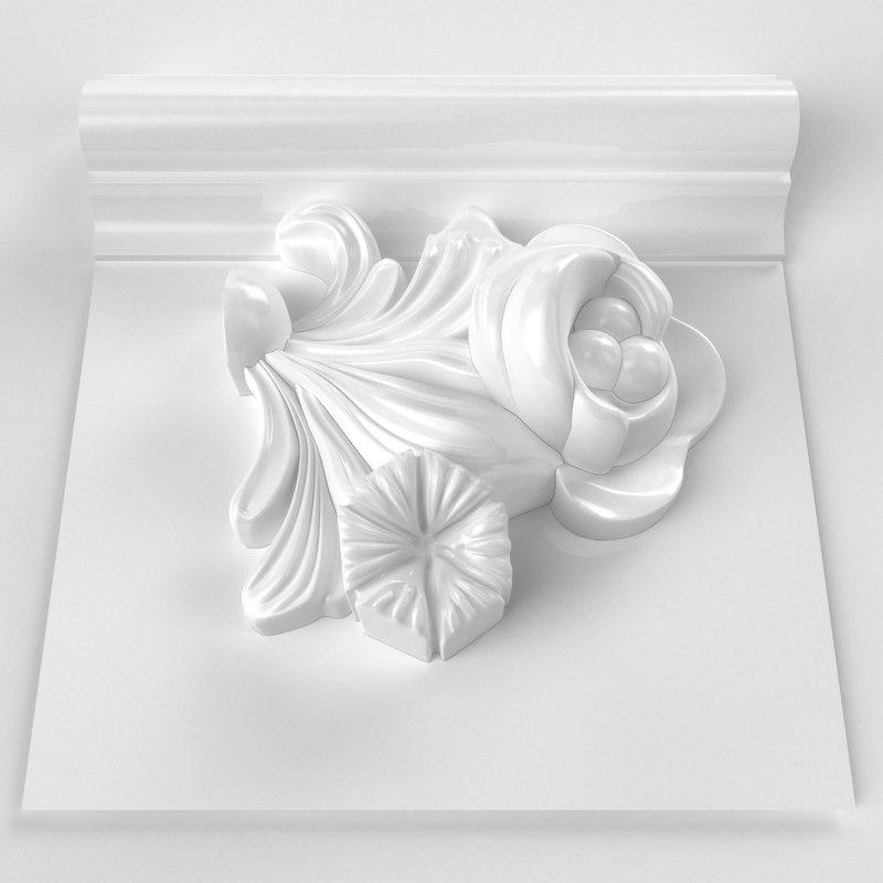 3d molding modeled stl