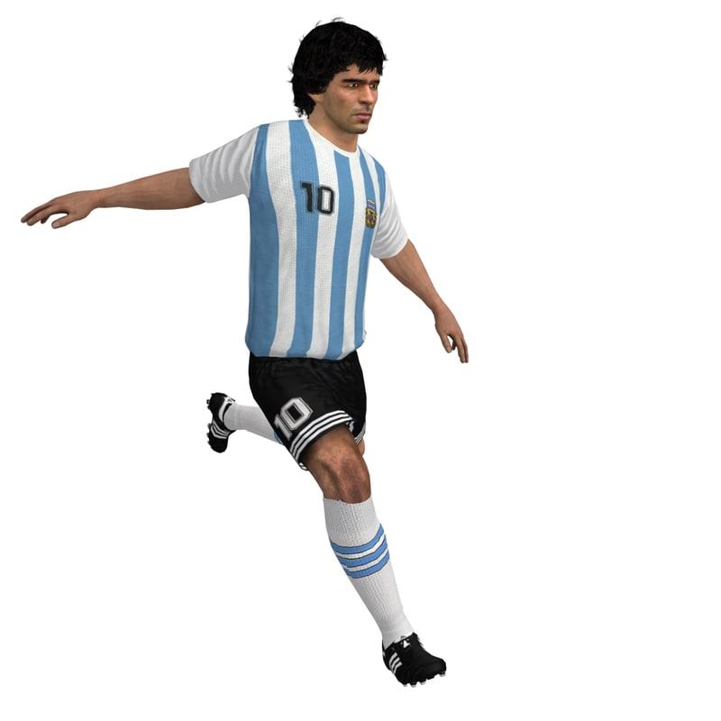 rigged maradona player max