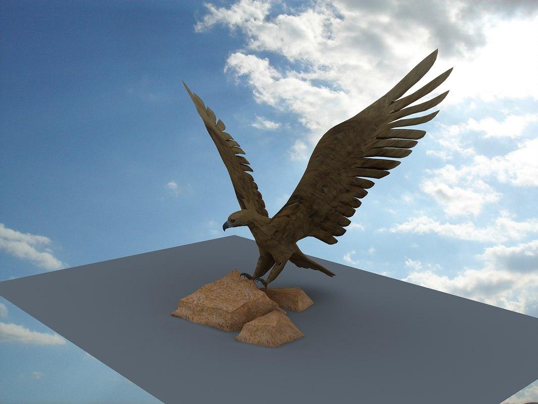 statue eagle max