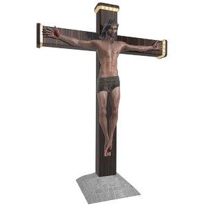 3d jesus christ sculpture