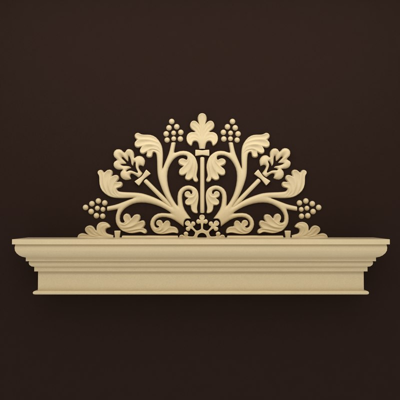 3ds max decor modelled for Decoration 3ds max