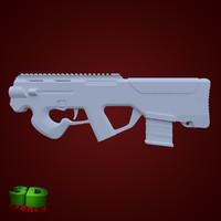 3d model magpul pdr