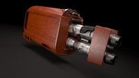 speeder star wars 3d model