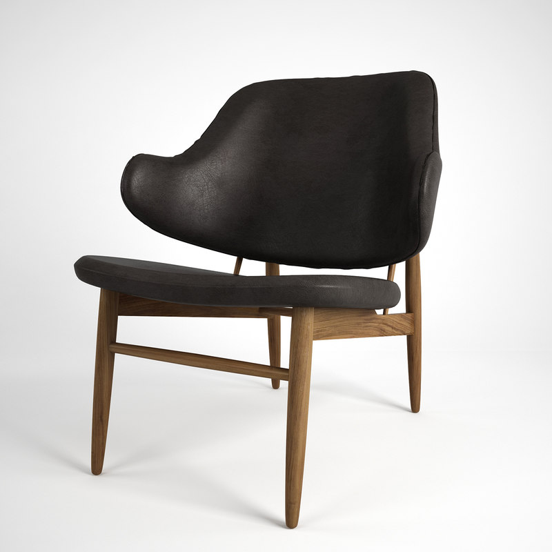 kofod larsen easy chair 3d max