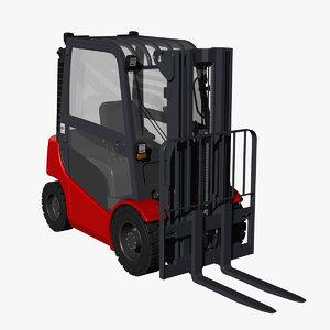 diesel forklift truck lift 3d model