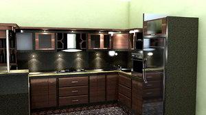 kitchen cinema c4d