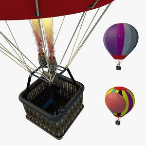 hot air balloon c4d