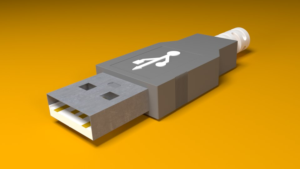 3ds max usb connector