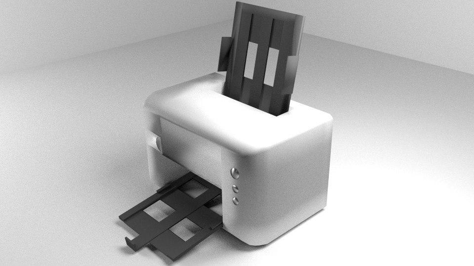 computer printer 3d 3ds