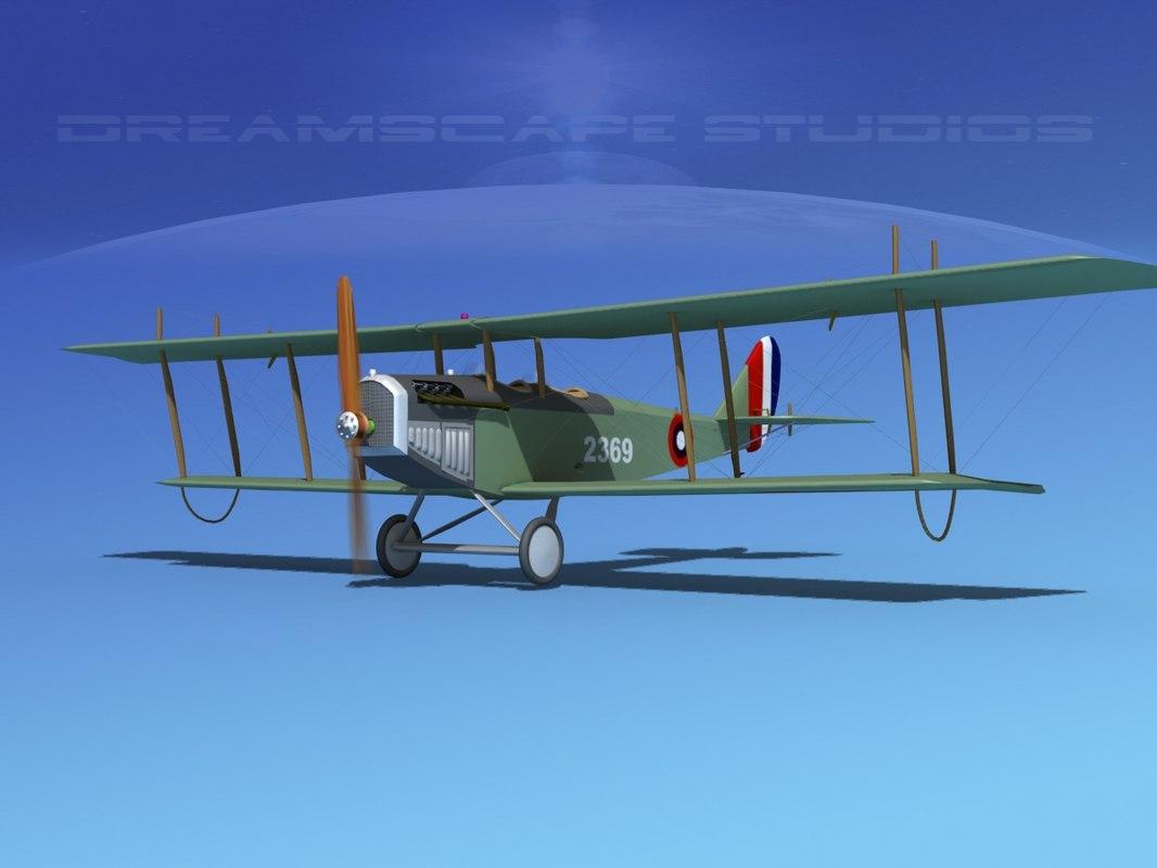 3d cockpit curtiss jenny model