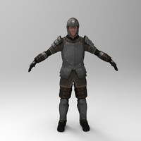 3d knight games - iron armor