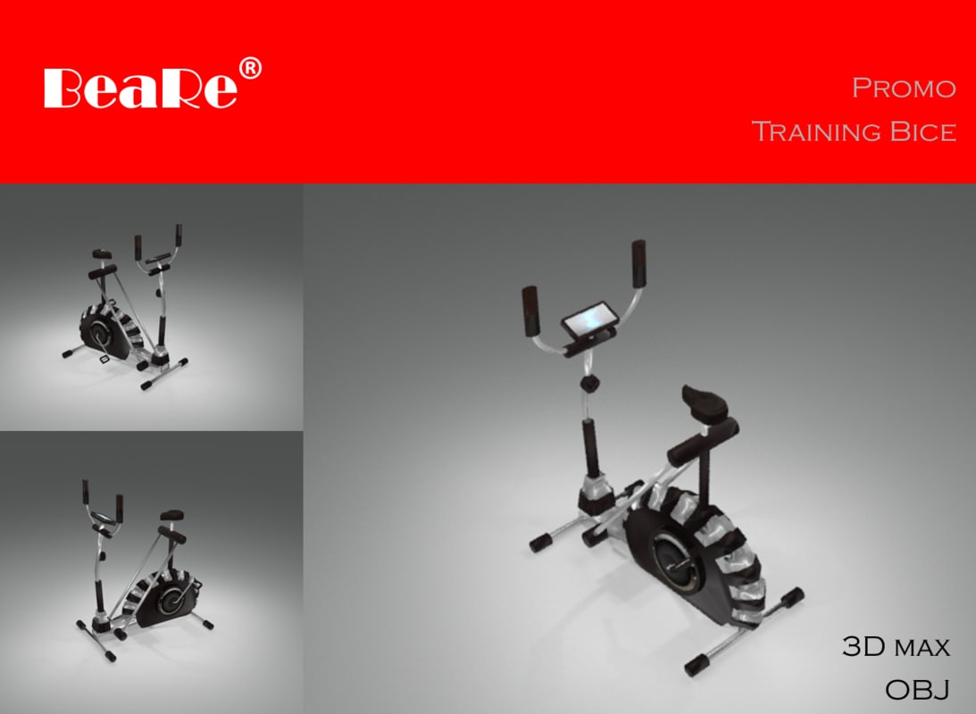 3d gym bicycle training