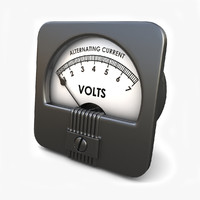 obj analog ac voltmeter