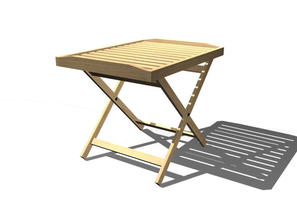 free max mode folding table