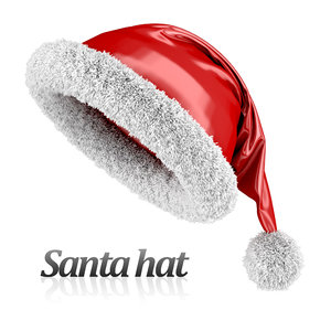3dsmax santa hat