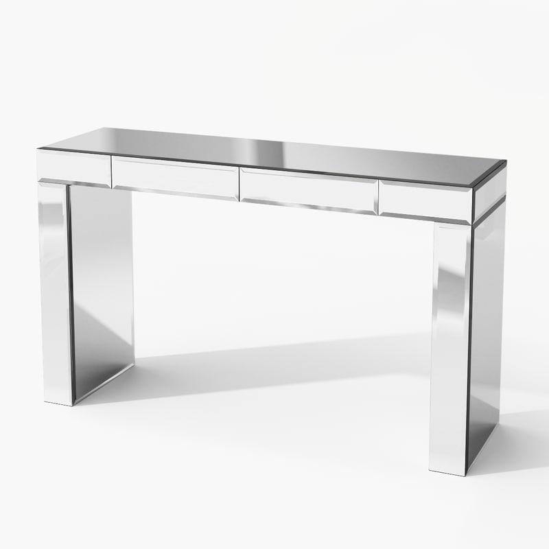 max eichholtz table console mirror