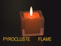 r15 candle glass 3d c4d