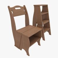 chair ladder step-ladder max