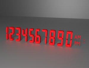 3dsmax 8-bit numbers