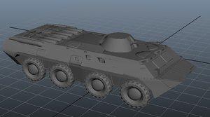 btr 3d model
