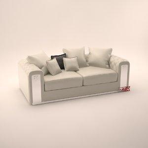3d model sofa chester wilson