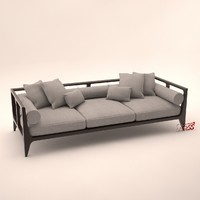3d model glyn peter machin sofa