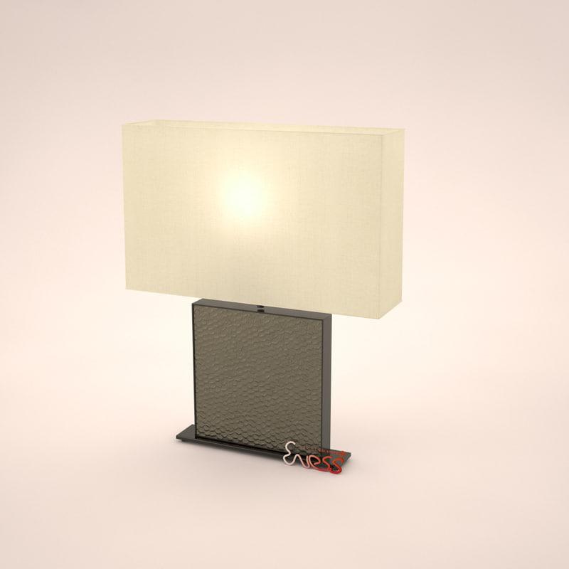 3ds max jnl table lamp salam