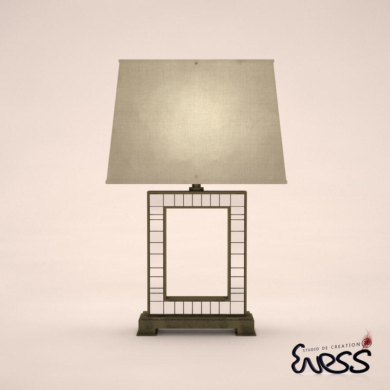 3ds max fine lamps transatlantic