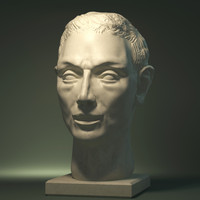 Plaster head