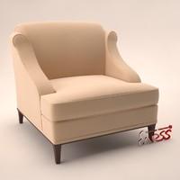 armchair 808 3d 3ds