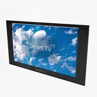 smart tv c4d