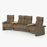 3d model of sofas stressless legend sc