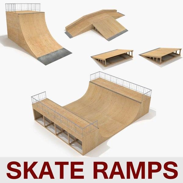 skate ramp pipes fun max