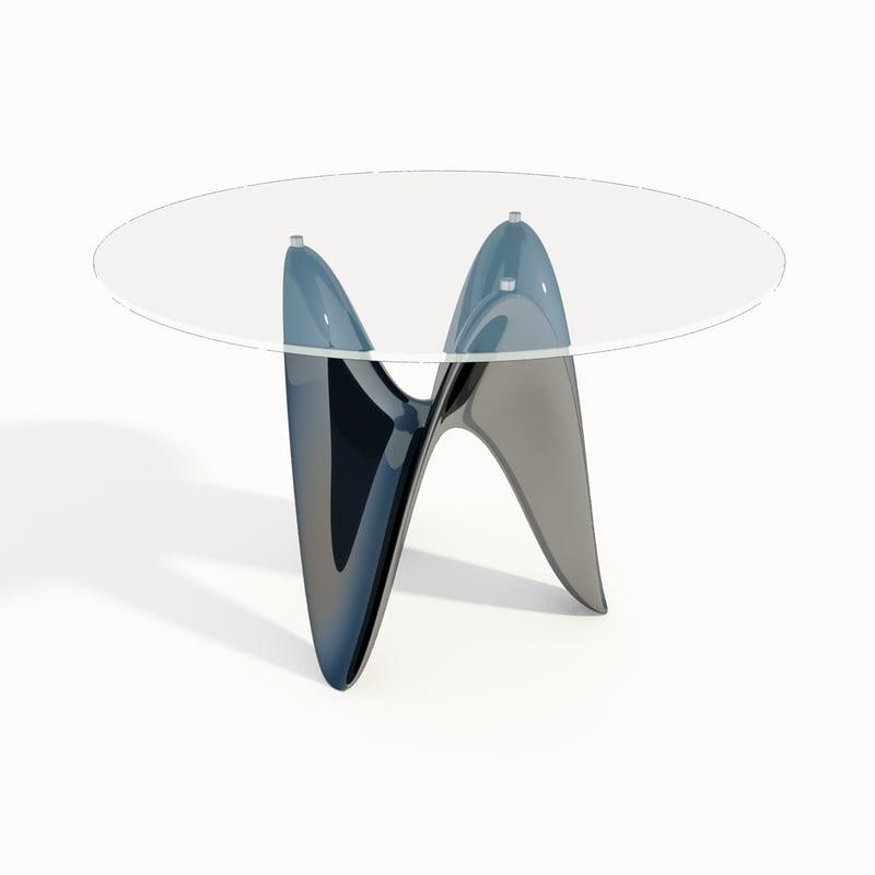 tonin casa tavolo 3d 3ds
